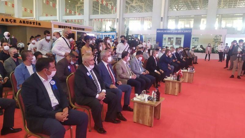Urfa'da 8. kez düzenleniyor: 150 firmanın katılımıyla bugün açıldı!