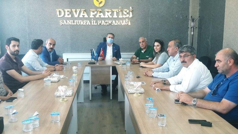 Urfa'da muhalefet partileri bir araya geldi!