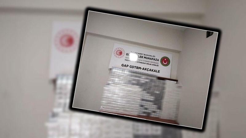 Urfa'da araçta gizlenmiş şekilde bulundu: 3 bin 780 pakete el konuldu!