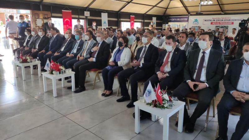 Eyyübiye'de  hayata geçti: 3 projenin toplu açılışı yapıldı