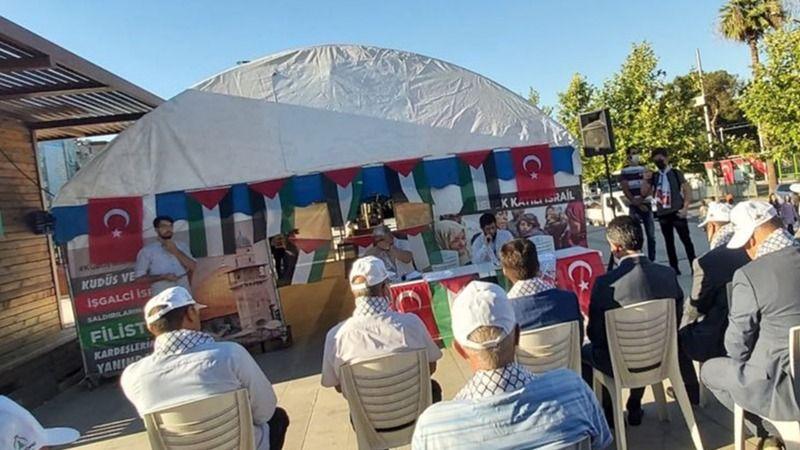 Kudüs çadırı için kapanış programı gerçekleştirildi!