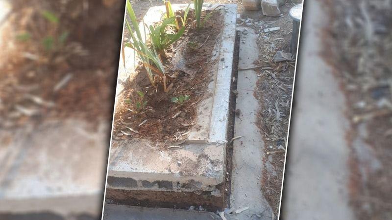 İnsanlık nereye gidiyor? Urfa'da ölüye de rahat yok!