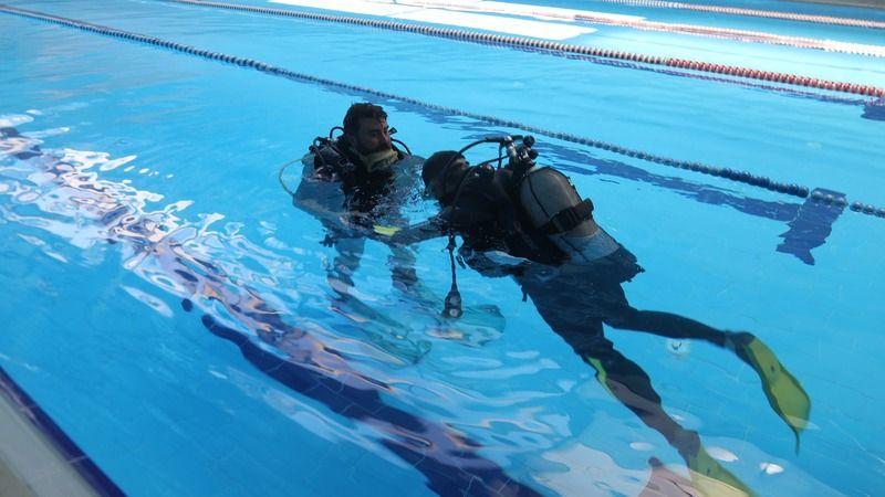 Urfa'da dalış eğitimi! Sertifika verilecek