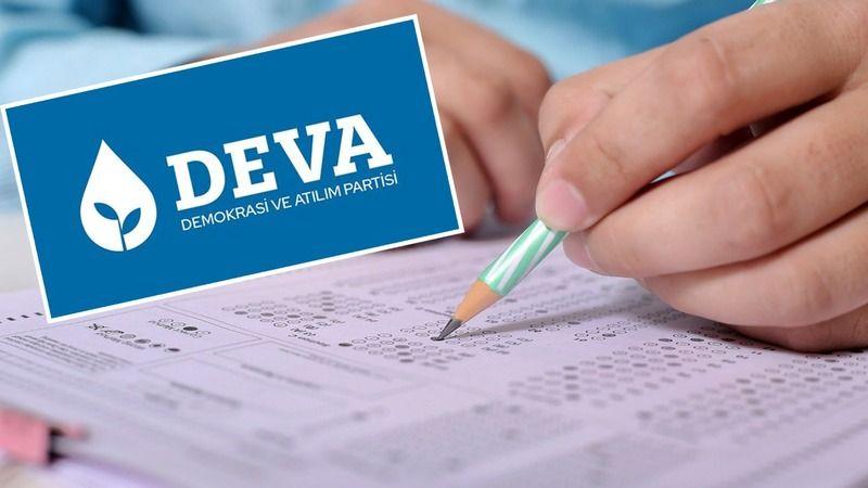 DEVA'dan tepki: Ali, Ayşe yarın sınava girecekken neden Katar'a iltimas?