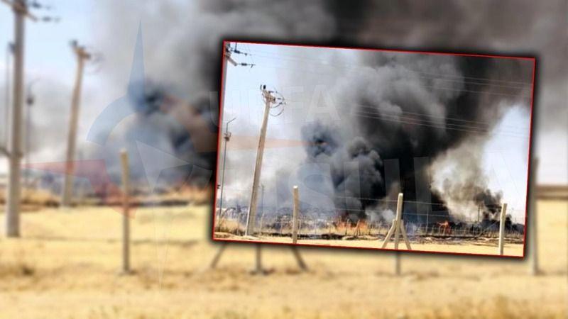 Urfa çadır kentte büyük yangın: 13 bin 500 sığınmacı yaşamıştı!