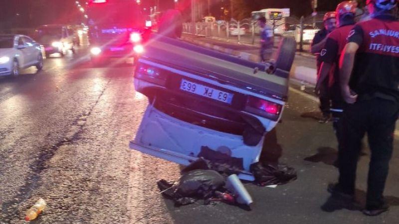 Urfa'da tugay önünde kaza! 3 yaralı