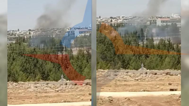 Şanlıurfa'da ağaçlık alanda korkutan yangın!