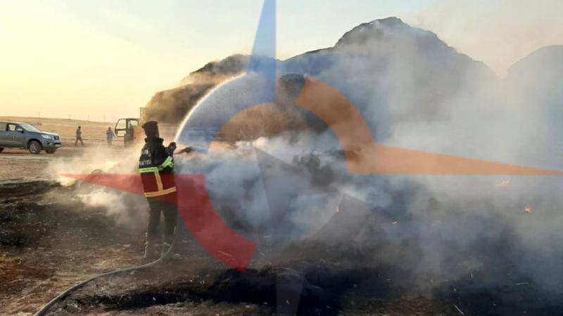 TİGEM'de tır yandı!