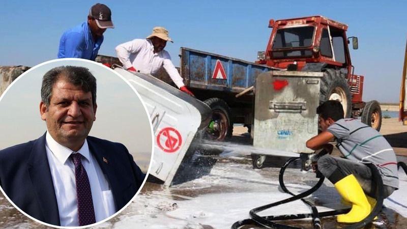 Ayhan, belediyeyi suçladı: Akçakale pislik içinde!