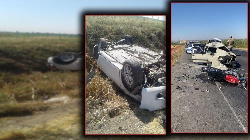 Urfa'da araç takla attı: Çok sayıda sağlık çalışanı yaralandı!