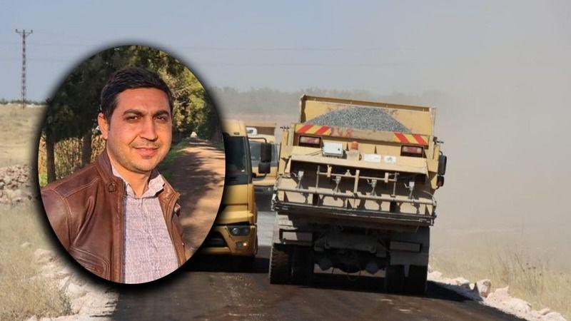 Urfa'daki yola tepki: Büyükşehir paylaşmış, ip çekin bari yol düz çıksın!