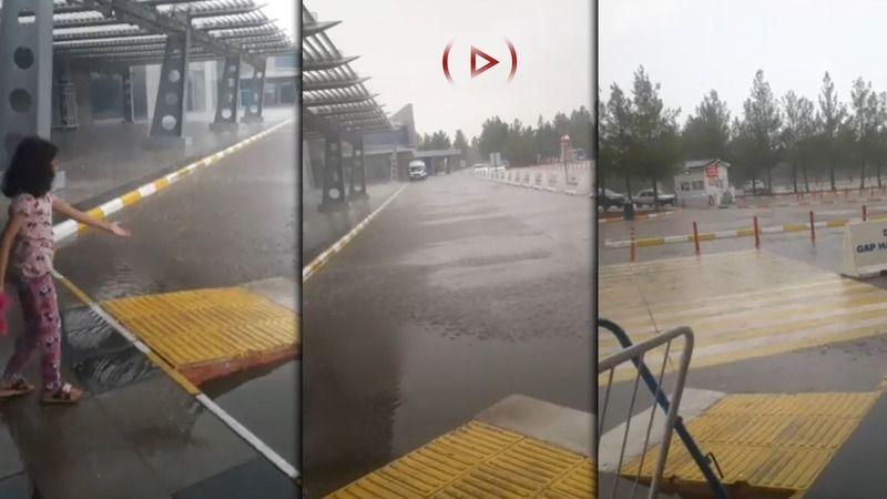 Şanlıurfa'da sürpriz yağış!