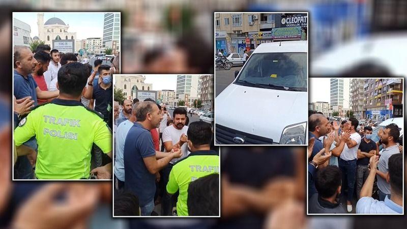 Urfa'da vatandaşlar yolu kapattı!