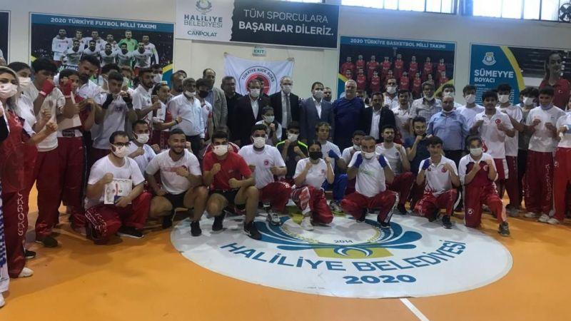 Haliliye'de başarılı sporculara diplomaları verildi!