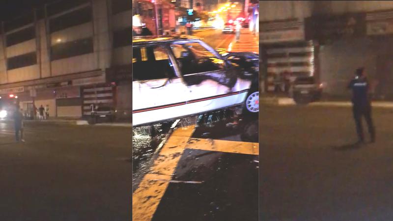 Şanlıurfa'da hareketli anlar! Polisten kaçtı iddiası