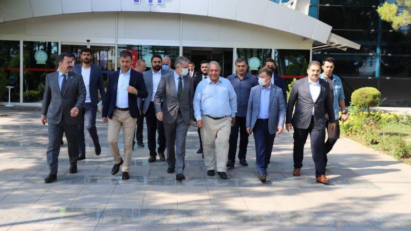 AK Parti Yerel Yönetimler Başkan Yardımcısı Şanlıurfa'da!