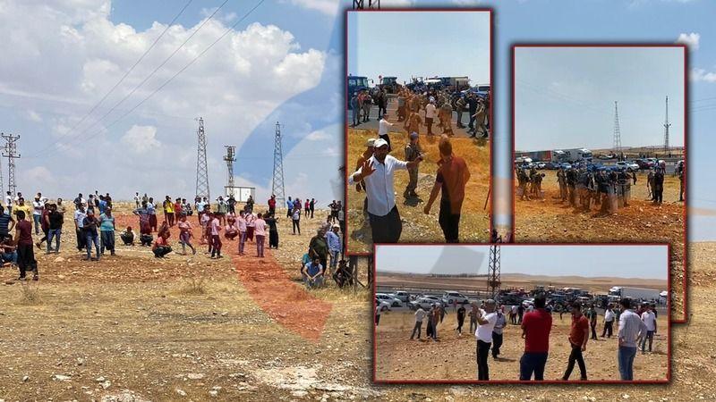 Urfalı vatandaşlar yol kesti, eylem yaptı!
