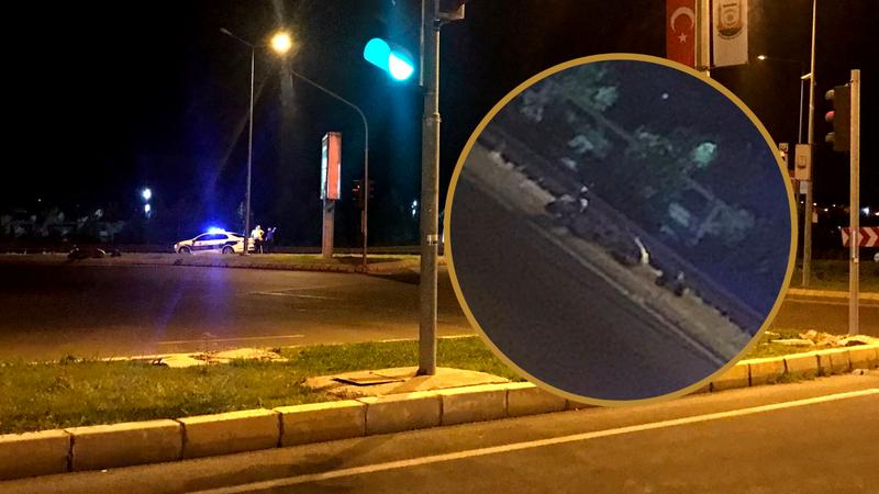 Urfa'da gece saatlerinde kaza!