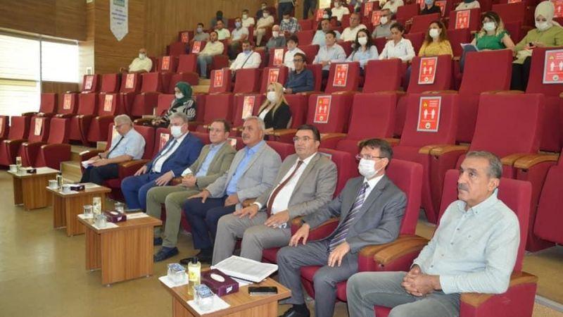 Urfa'da bazı alacakların yapılandırmasına yönelik bilgilendirme toplantısı!