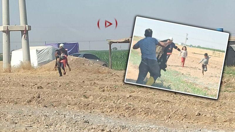 Urfa'nın ilçesinde 10 kişilik aileyi itfaiye kurtardı!