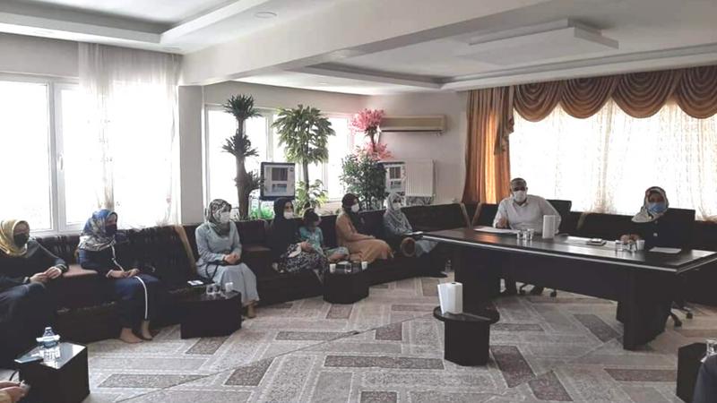 Şanlıurfa'da personellerle toplantı