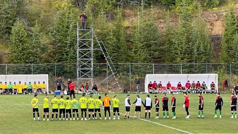 Komşular Bolu'da karşılaştı! Maç beraberlikle sonuçlandı!