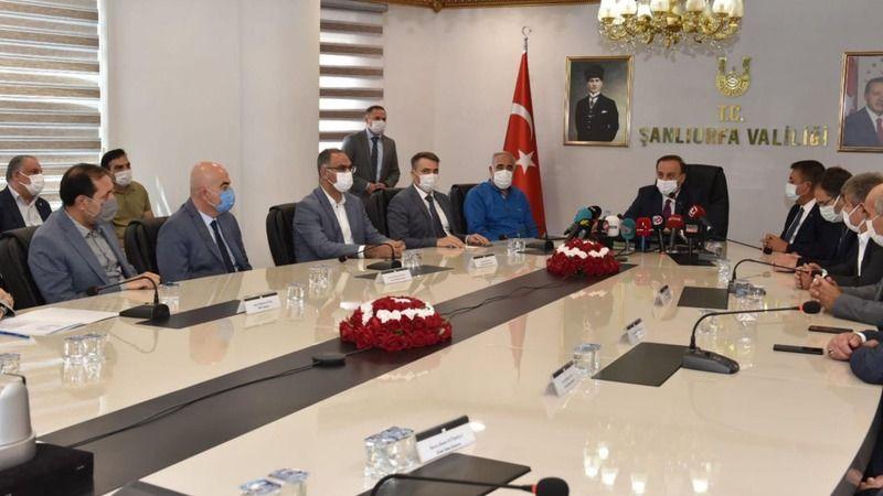 Urfa'da kritik korona toplantısı! Korkutan rakamlar