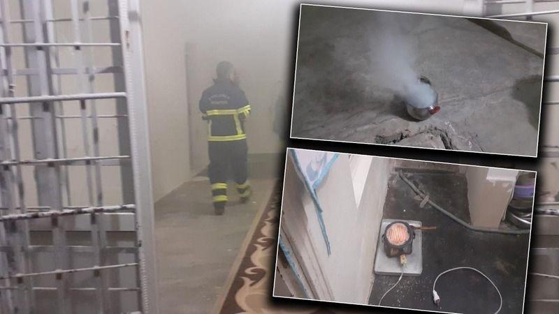 Urfa'da yemeğin ocakta unutulması sonucu yangın çıktı!