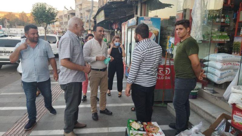 CHP'li Alagöz'den esnaf ve vatandaşa ziyaret