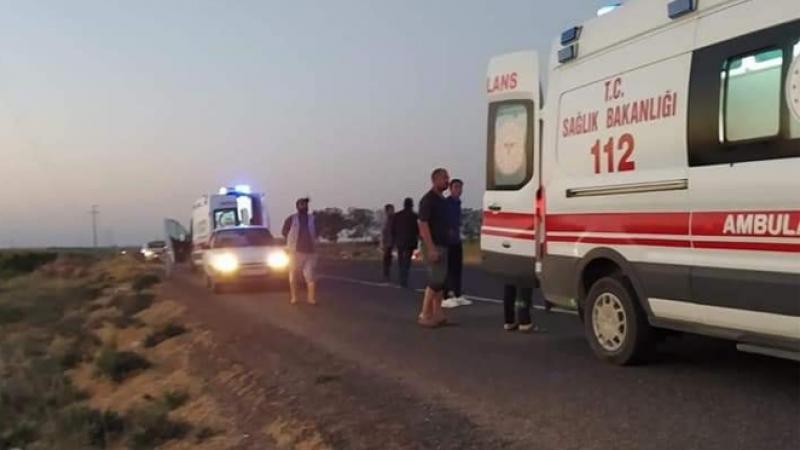 Urfa'da ambulans kaza yaptı: 1'i ölü çok sayıda yaralı var!
