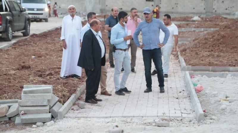 Eyyübiye'de yeni park çalışmaları sürüyor!