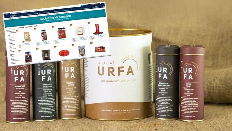 Urfa'nın isotu Amazon'da en çok satanlar listesinde!