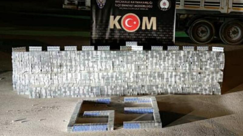 Urfa'da binlerce paket ele geçirildi! Gözaltılar var