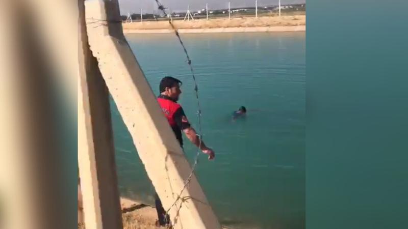 Kanala atladı! Urfa'da intihar girişimi