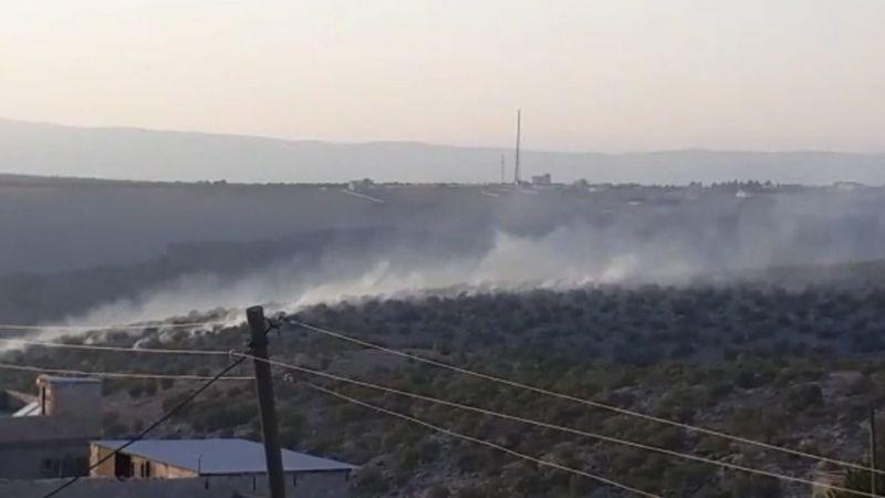 Urfa'nın ilçesinde yangın çıktı!