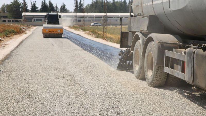 Haliliye'de 2 kırsal mahallede daha asfalt çalışması tamamlandı!