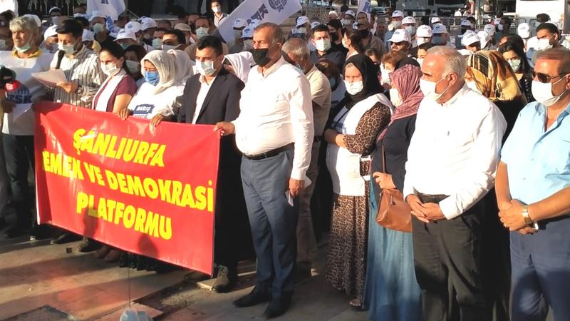 CHP'li Aydınlık barış açıklamasına katıldı