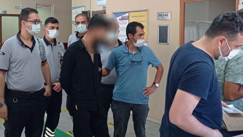 Şanlıurfa'da hırsızlık yaptığı hastaneye gitti, yakalandı!