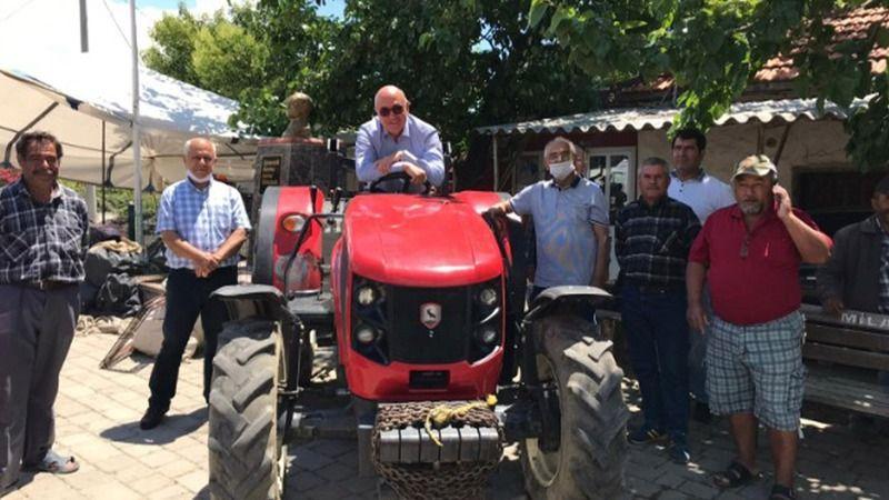 CHP'li Tanal'dan traktör haczini durduracak teklif