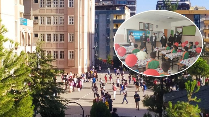 Urfa'daki öğrenciler için ilk ders zili çaldı!