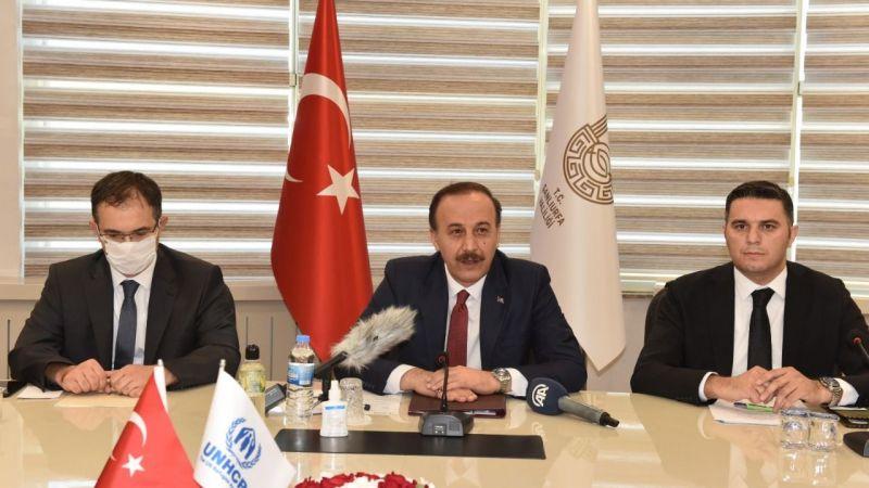 BM Mülteciler Yüksek Komiseri Grandi Şanlıurfa'da!