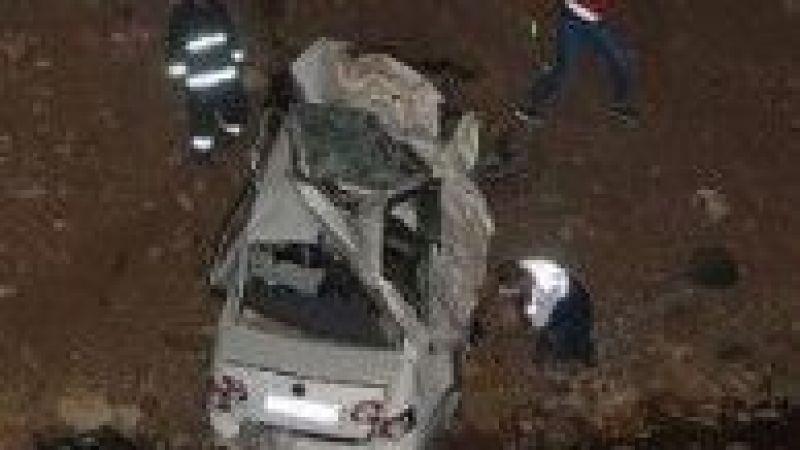 Urfa'da otomobil köprüden uçtu: Feci kaza sonucu ölüler var!