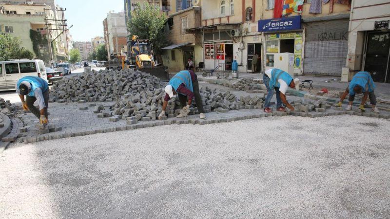 Haliliye'nin 2 mahallesinde parke çalışması!