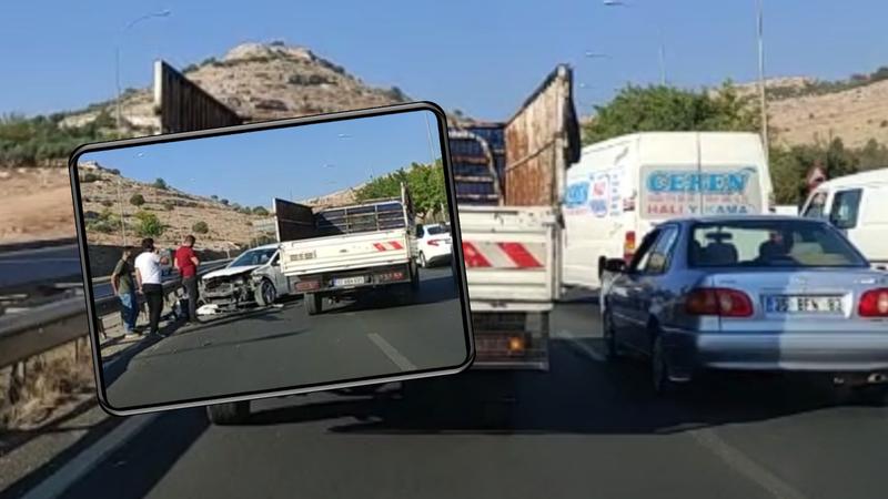 TOKİ yolunda yine kaza!