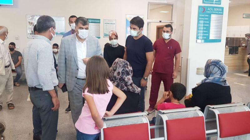 Sağlık Müdürü Urfa'daki hastanede incelemelerde bulundu!