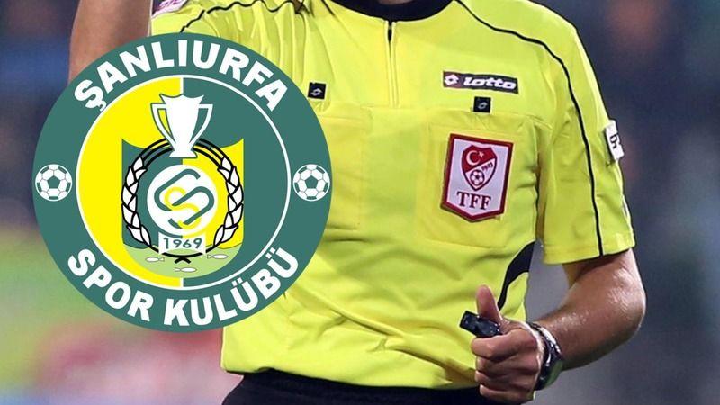 Şanlıurfaspor'un maçını yönetecek hakemler belli oldu!