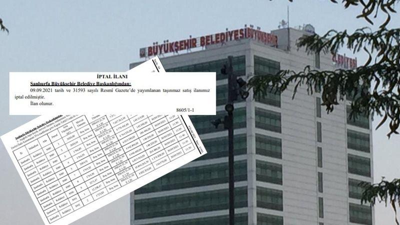 Büyükşehir Belediyesi'nin arsa satışları iptal edildi!
