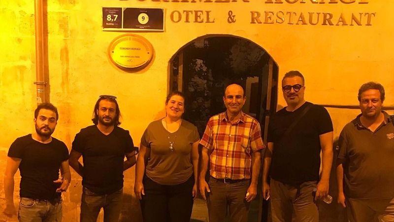 Sermiyan Midyat, Türkmen Konağı'nın misafiri oldu!