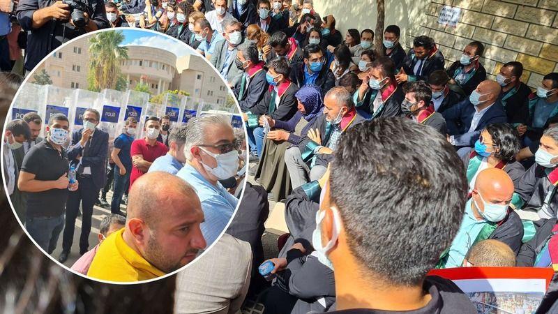 Avukatlar, Şenyaşar Ailesi'yle oturma eylemi yaptı!