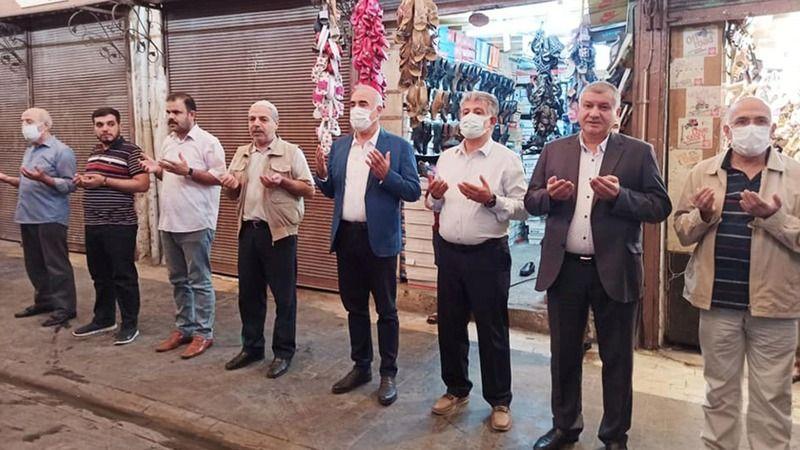 CHP'li Aydınlık duaya katıldı